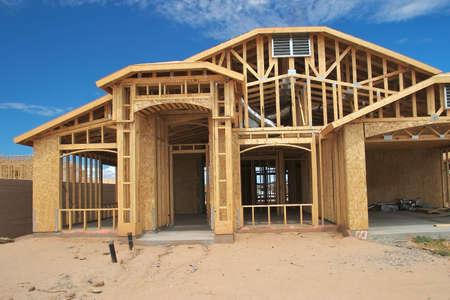 House Construction Zdjęcie Seryjne