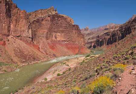 Hance Rapids in Grand Canyon. photo