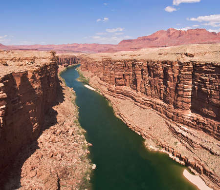 Colorado River in Marble Canyon.  photo