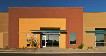 Office building in new business Park