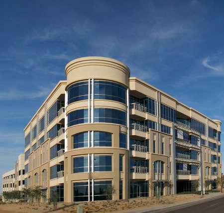 generic location: Officecondo building under construction.