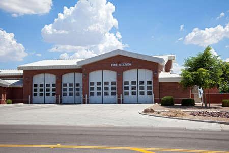 estacion de bomberos: Estaci�n de bomberos.
