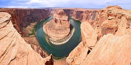 Colorado River in Horseshoe Bend. 版權商用圖片