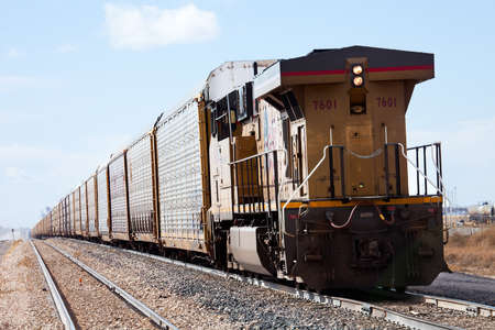 freight train: Long freight train  Editorial