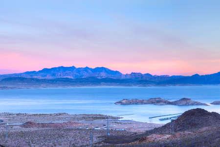 Lake Meade at sunrise  photo