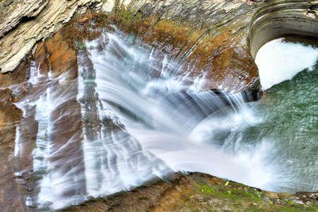 Cascades in Watkins Glen State Park.