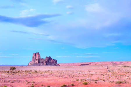 Rock formation in Navaho Nation. Stock Photo