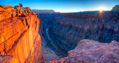 grand canyon national park: Sunrise at Toroweap Point, in Grand Canyon National Park.