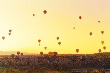 Balloon flights in National Park of Cappadocia Editorial