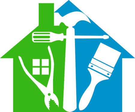 home logo: Home tools logo