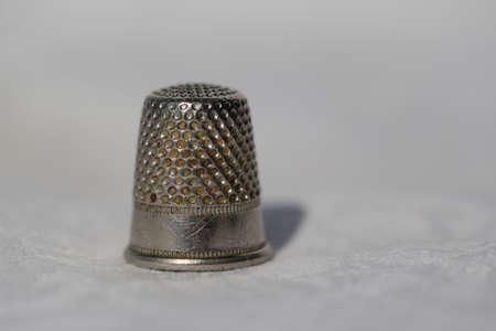 close up of thimble Фото со стока