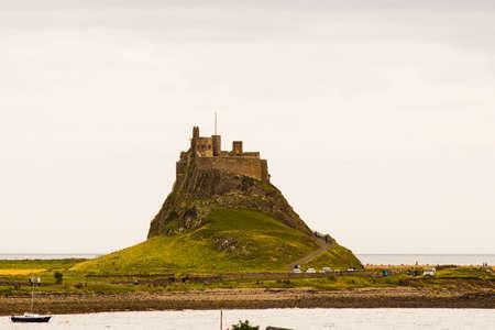 lindisfarne castle in northumberland