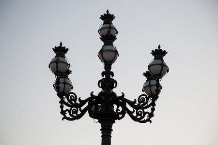 Street lamp of Rome 写真素材