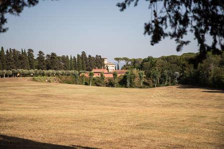 Landscape of Rome 写真素材