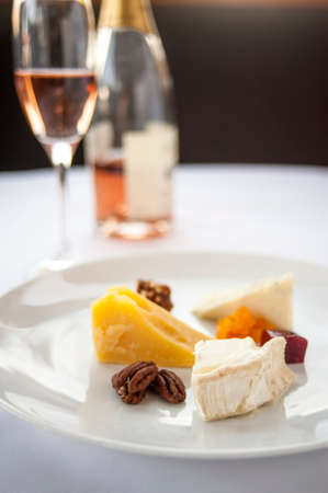 Cheese and Nut Appetizer Imagens