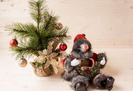 christmas decor: Rustic Christmas Decor