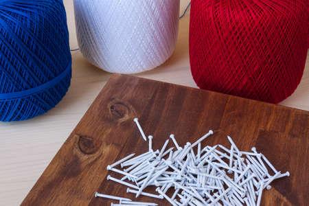 nails: White Craft Nails