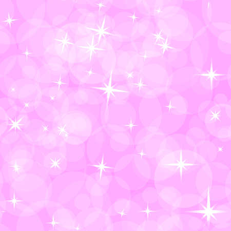 asterisks: Abstract pink pattern for children. The asterisks and circles. Illustration