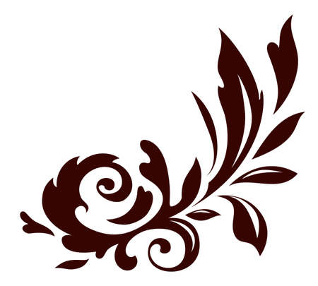 Vector illustration of floral ornament Vector
