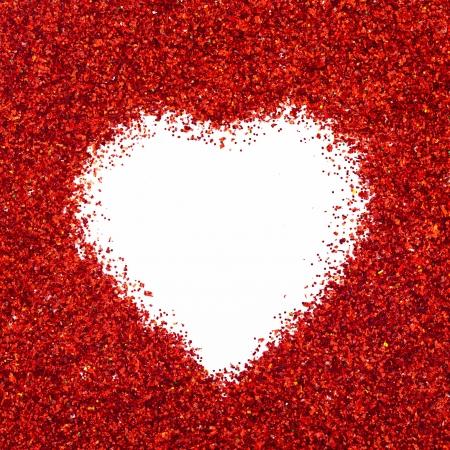 Valentine heart photo