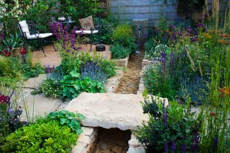 patio: Garden patio