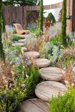 Tranquil garden photo