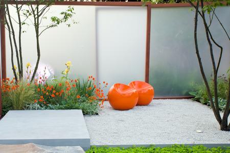 Garden landscape Standard-Bild