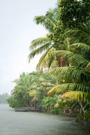 Monsoon time in tropical area