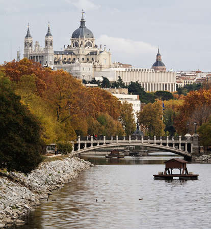 Image of Madrid in Spain photo