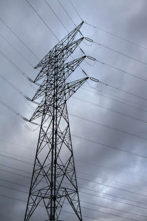 Image of an electric pylon photo