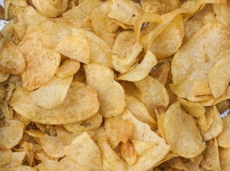 Image of potato chips.