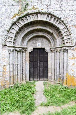 camino de santiago: Romanic Church at Camino de Santiago