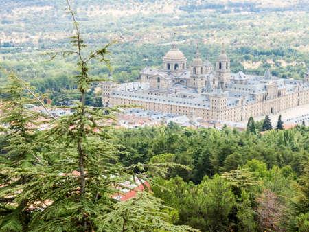 lorenzo: San Lorenzo de El Escorial Monastery  Stock Photo