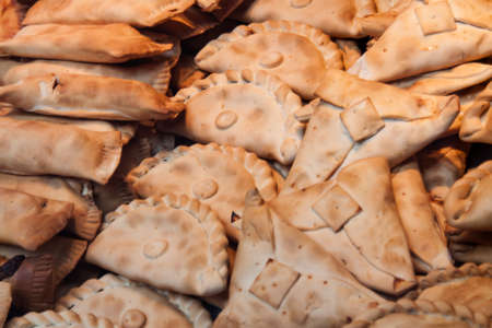 meat pie: Image of a group  Homemade meat pie