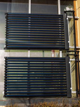 cobradores: Colectores t�rmicos dom, calentadores de agua