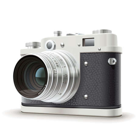 foto: Old camera.  Illustration