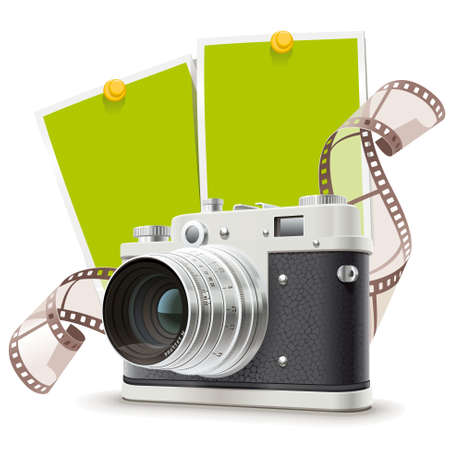 foto: Old camera collage