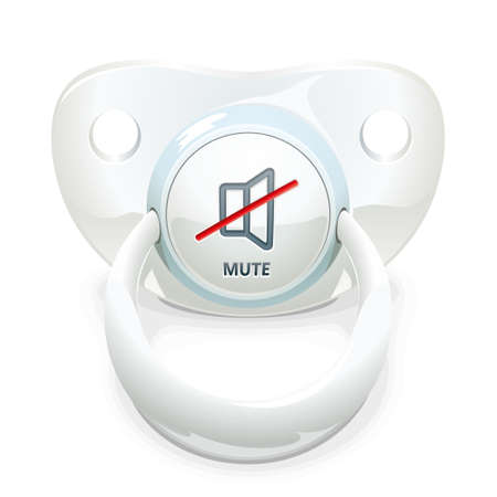 Pacifier for little naughty screamers
