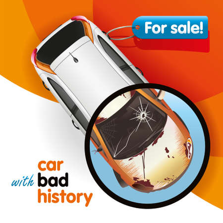 appearance: The car new in appearance has bad history
