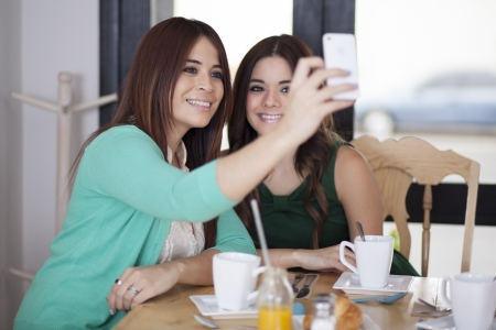best: Best friends taking a picture together