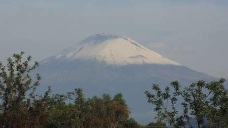 don goyo como mucha gente lo conoce volcan activo Stock Photo