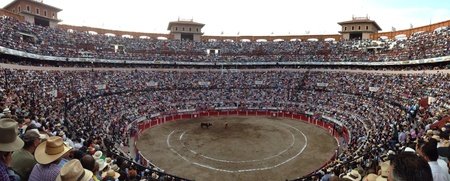plaza de toros: Evening of art evening of bull fighting.