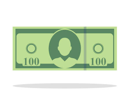 Money bill cash icon illustration Иллюстрация