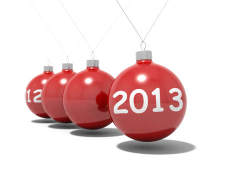 Christmas balls new year Stock Photo - 16393011