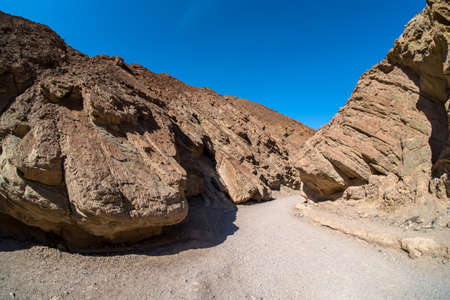 colorfull: Golden Canyon Trail at Death Valley