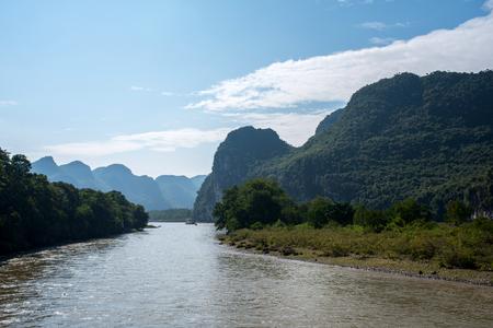 li river cruise from Guilin to Yangshuo, china, Asia