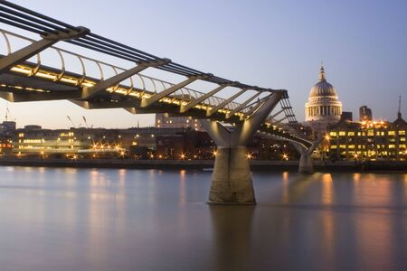 Millennium bridge photo