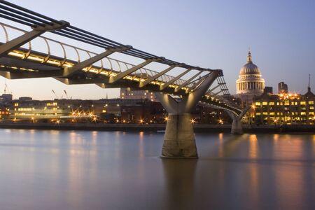 Millennium bridge photo