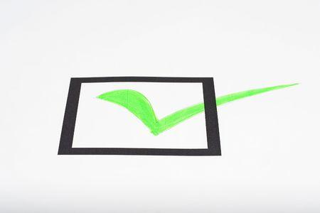 checklist form Stock Photo - 3713594