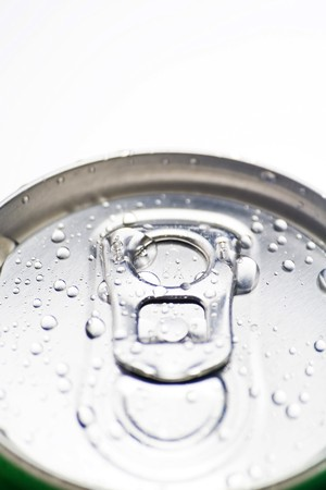 refreshment soda diet cold drink isolated over white photo
